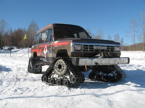 雪地履带运用于越野车
