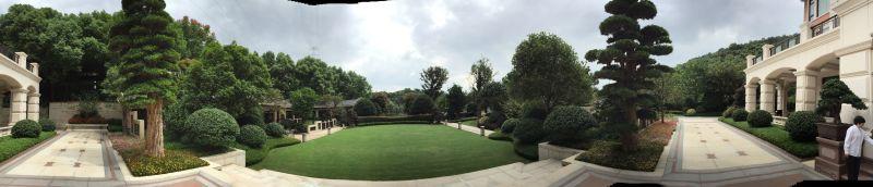 索菲特別墅景觀綠化3